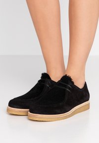 CLOSED - LACE UP - Lace-ups - black - 0
