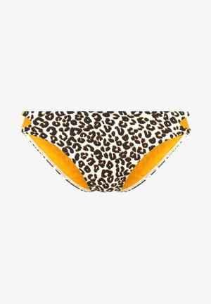 Bikini bottoms - braun-bedruckt