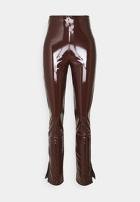 Nly by Nelly - SLIM  PANT - Trousers - brown - 4
