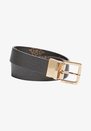 PEONY - Belt - schwarz