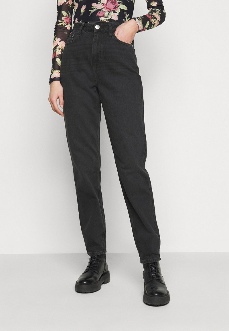 River Island Tall - Jeans a sigaretta - washed black