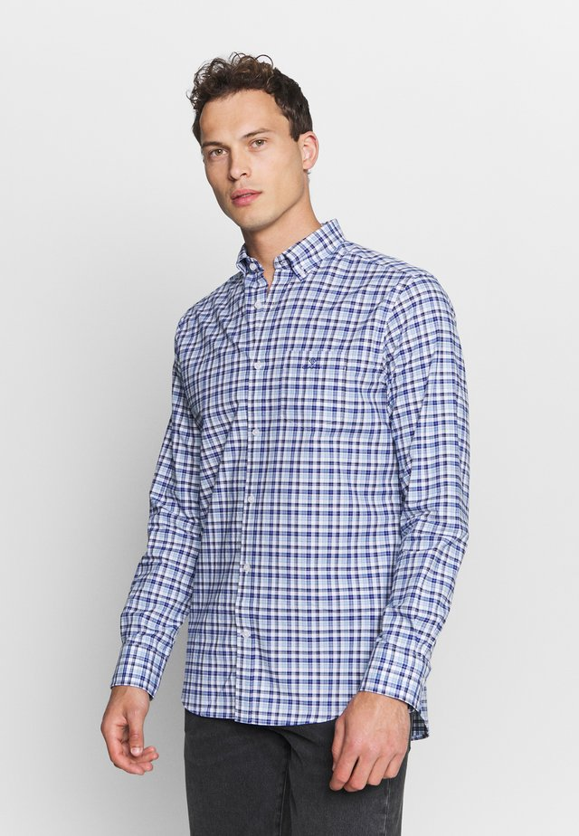 OXFORD MICRO MADRAS REG - Shirt - blue bell