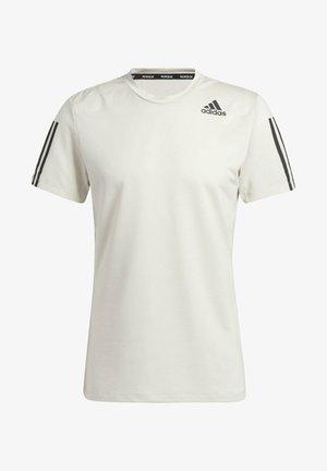 PRIMEBLUE AEROREADY 3-STRIPES SLIM T-SHIRT - T-shirts print - grey