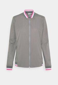 Cross Sportswear - STORM JACKET - Training jacket - steel grey - 0