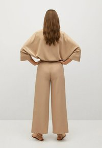 Mango - MOMO - Trousers - beige - 2