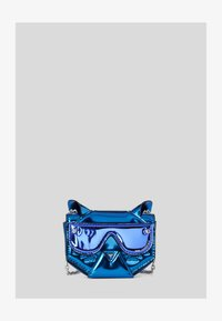 KARL LAGERFELD - CYBER CHOUPETTE  - Taška spříčným popruhem -  blue - 0