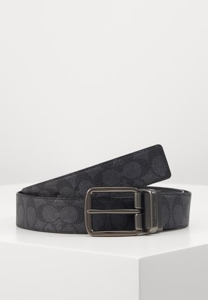 WIDE HARNESS SIGNATURE BELT - Belt - charcoal/black