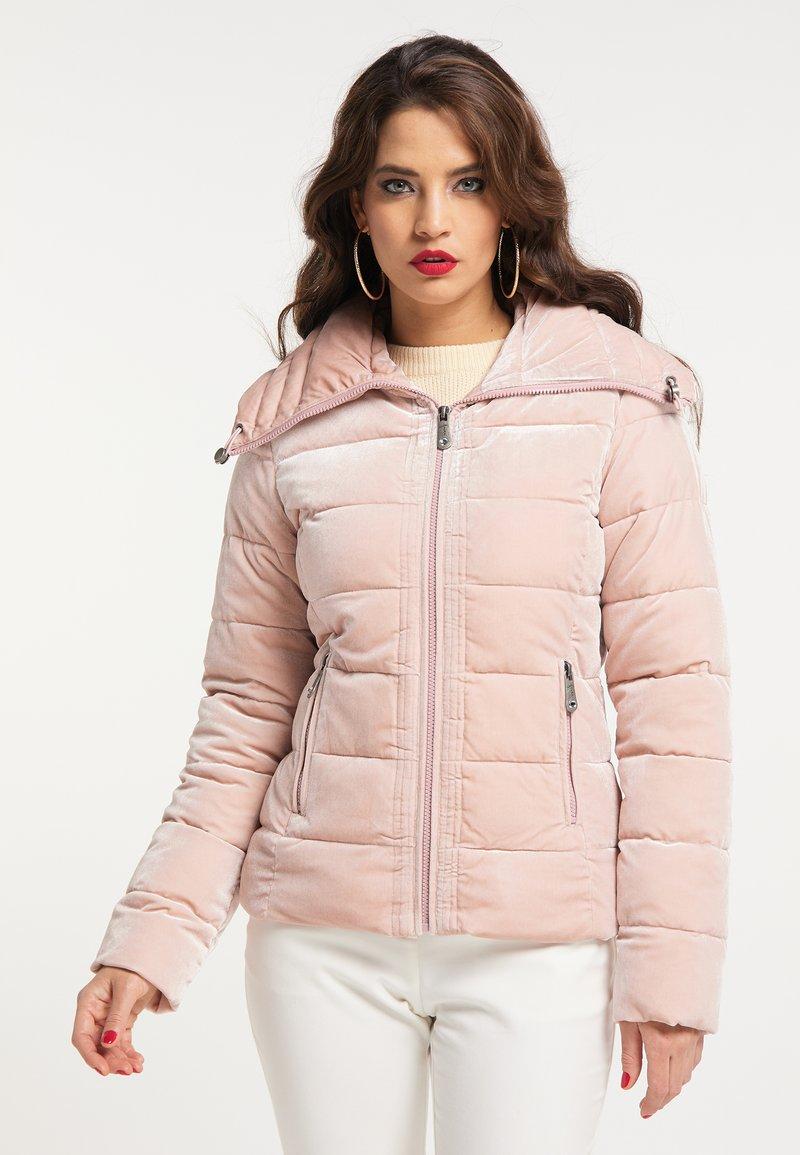 faina - Winter jacket - hellrosa