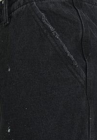 Jaded London - PAINT SPLATTER BLACK PANELLED CARGOS - Kapsáče - black - 2