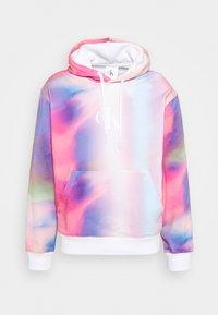 HOODIE UNISEX - Zip-up hoodie - pride marble