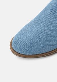 TWINSET - Cowboy/biker ankle boot - blue - 4
