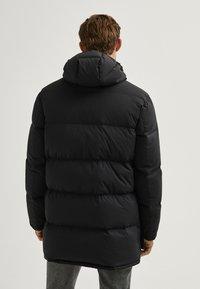 Massimo Dutti - LANGE MIT TASCHEN - Winter coat - dark blue - 1