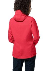 Jack Wolfskin - JWP SHELL - Waterproof jacket - tulip red - 1