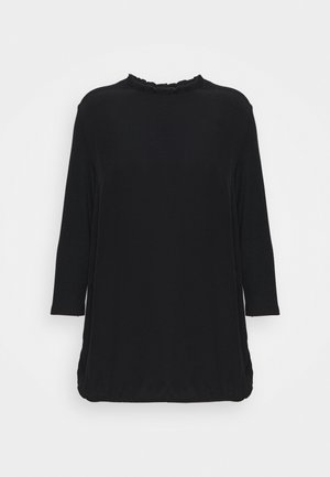 ECOVERO TEE - Long sleeved top - black