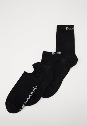 ALL PURPOSE SOCK 3 PACK - Sportsokken - black