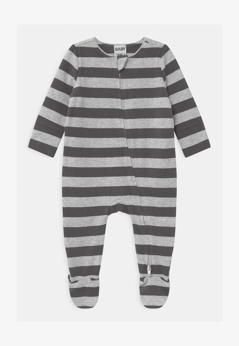Cotton On - LONG SLEEVE ZIP - Sleep suit - cloud marle/graphite grey