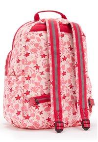 Kipling - SEOUL - Rucksack - pink leaves - 1