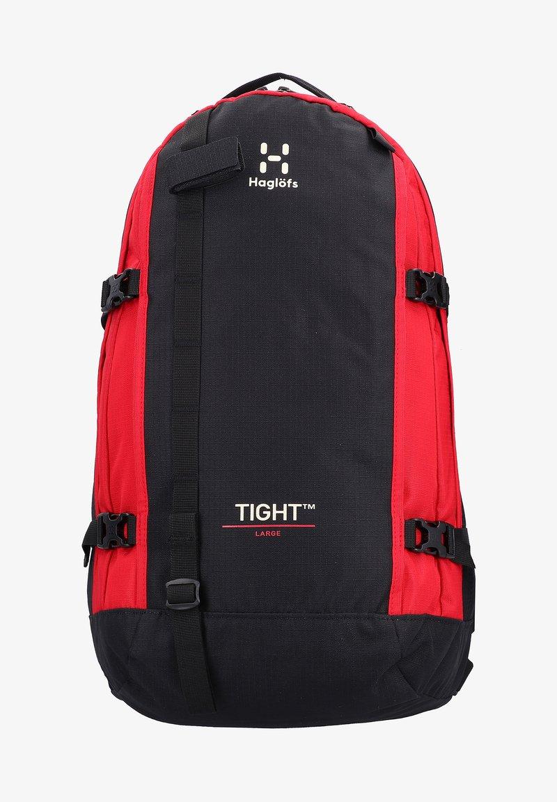 Haglöfs - TIGHT - Rucksack - true black/scarlet red
