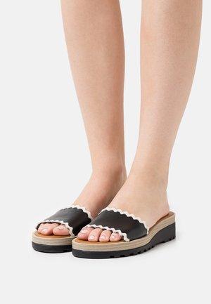 ROBIN - Pantofle - black