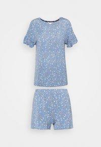 Marks & Spencer London - DITSY SHORTIE - Pyjamas - chambray - 4