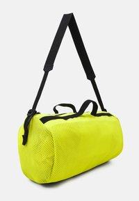 adidas Performance - DUFFEL  - Sportovní taška - acid yellow/black - 2