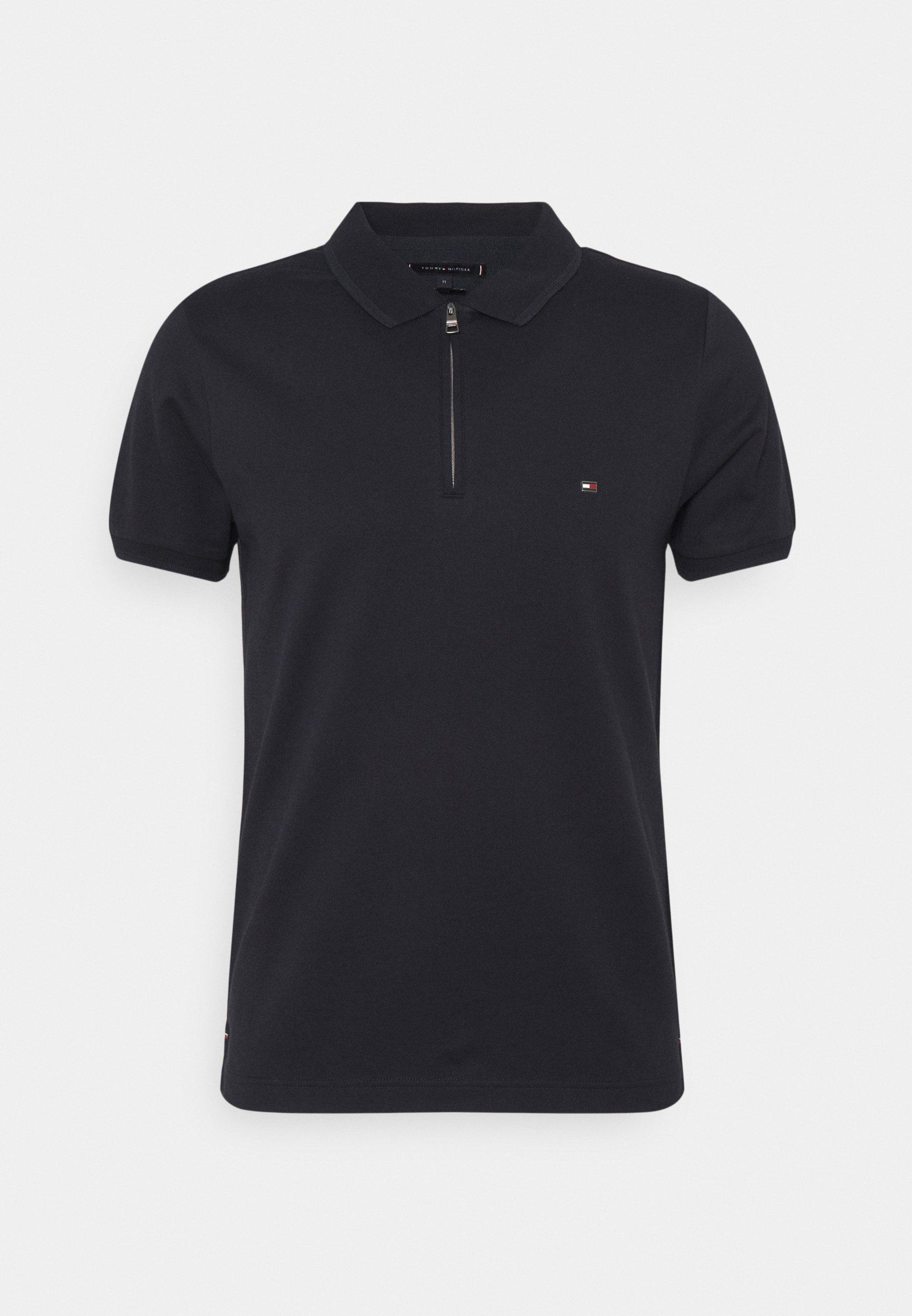Men FLEX MOULINE ZIP SLIM FIT - Polo shirt
