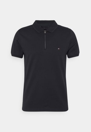 FLEX MOULINE ZIP SLIM FIT - Polo shirt - desert sky