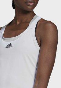 adidas Performance - Y-TANK - Top - white/black - 3