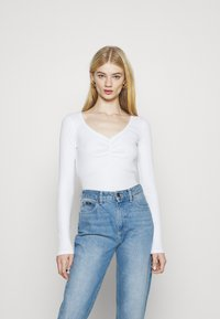 Hollister Co. - Long sleeved top - white - 0