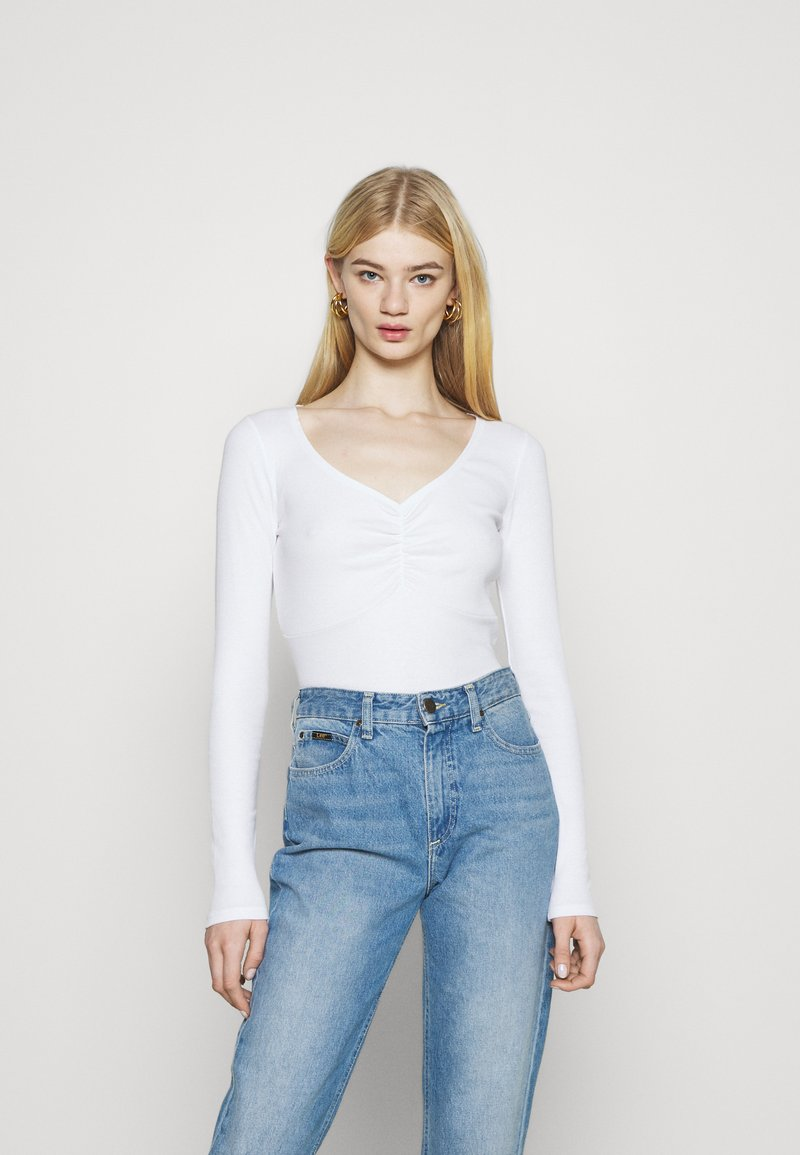 Hollister Co. - Long sleeved top - white