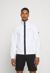Tommy Jeans - ESSENTIAL CASUAL  - Summer jacket - white - 0