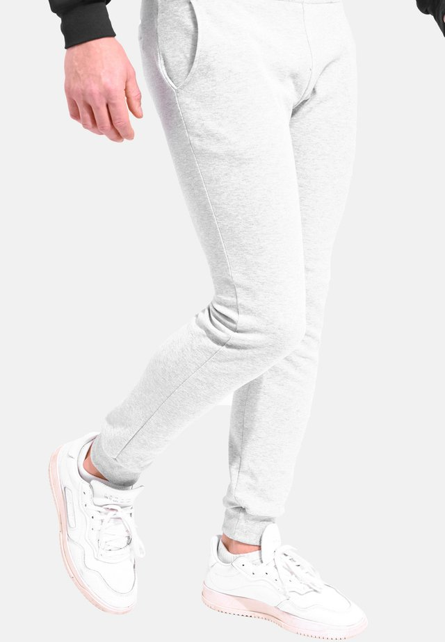 ESS Pant Slim - Pantalon de survêtement - heather grey