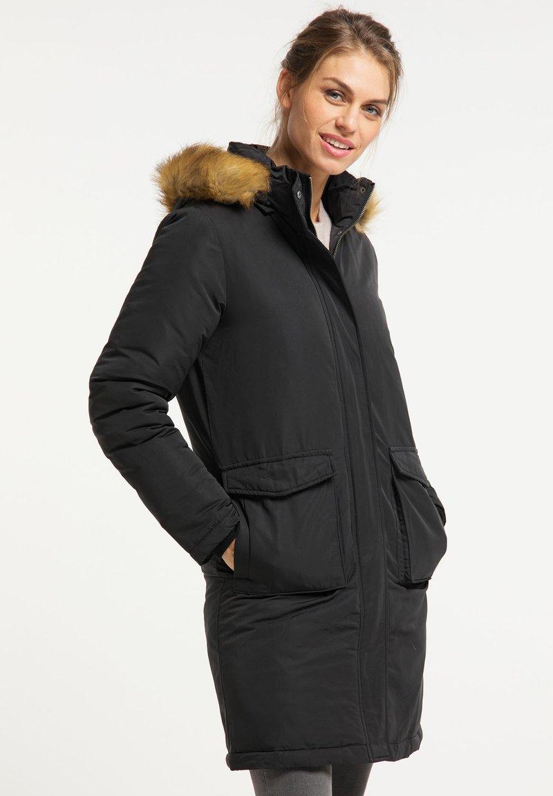 usha - Winter coat - schwarz