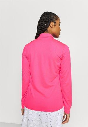 Felpa aperta - hyper pink