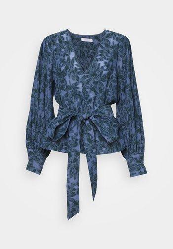 SAMBUCO - Blouse - aegean blue