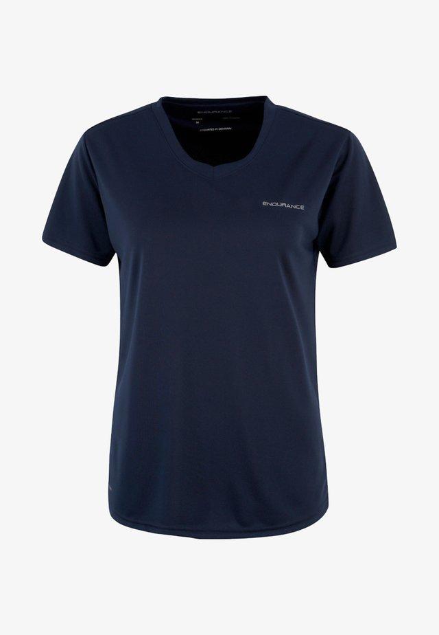 VISTA - Basic T-shirt - dark blue