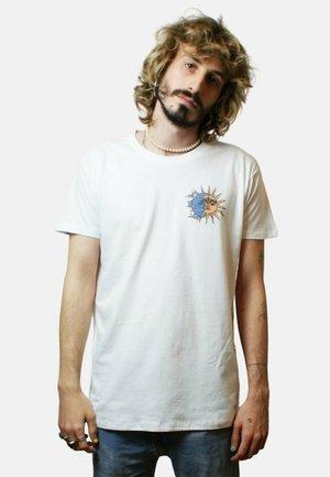 LUNAR - T-shirt print - white