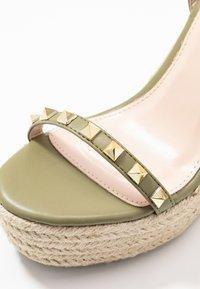 RAID - KORI - Sandaler med høye hæler - sage green - 2