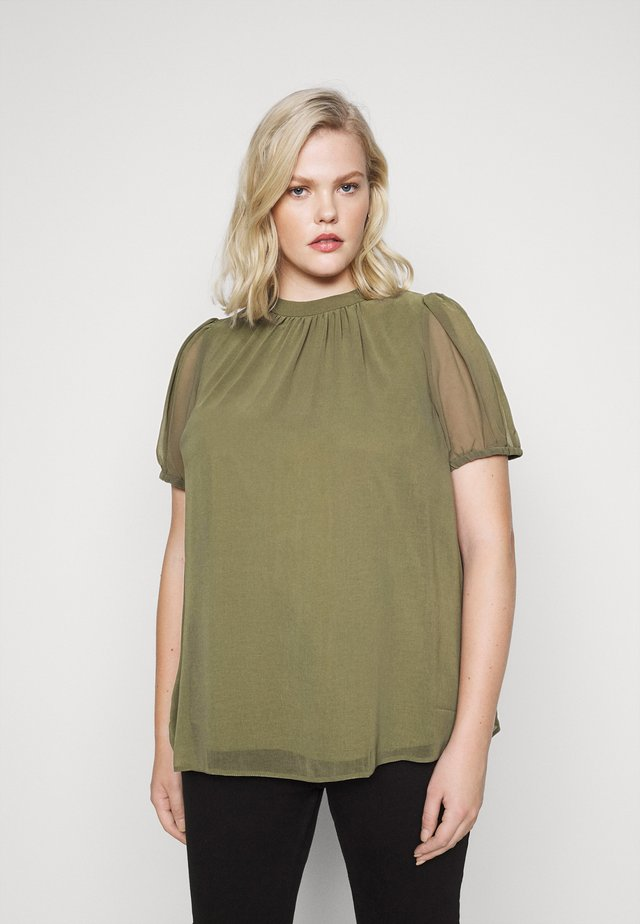 BILLIE PUFF SHELL - Blouse - green