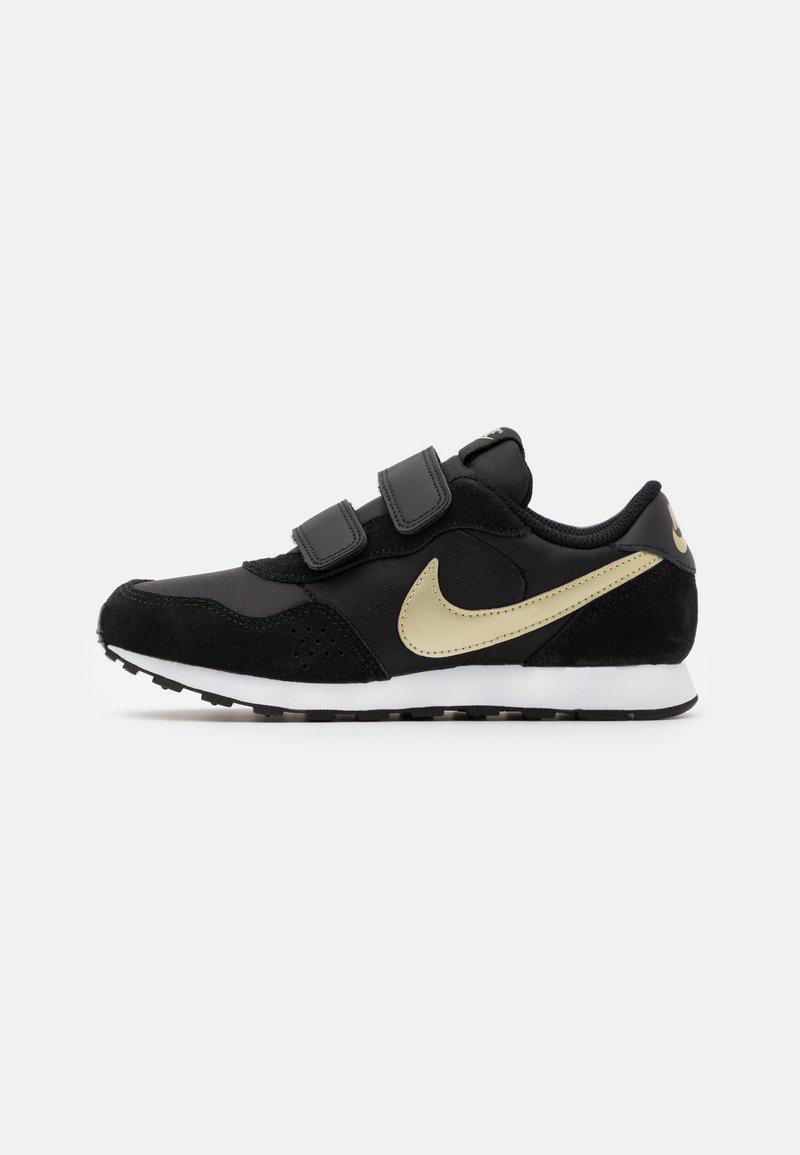 Nike Sportswear - VALIANT  - Trainers - black/metallic gold star/white