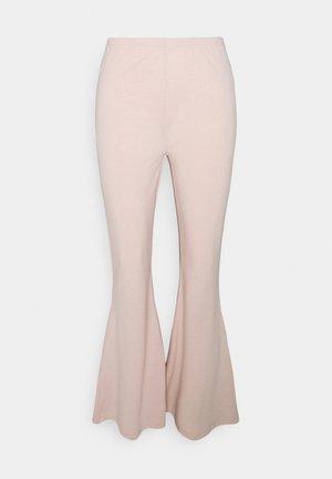 FLARE LEG PANT - Trousers - cameo rose