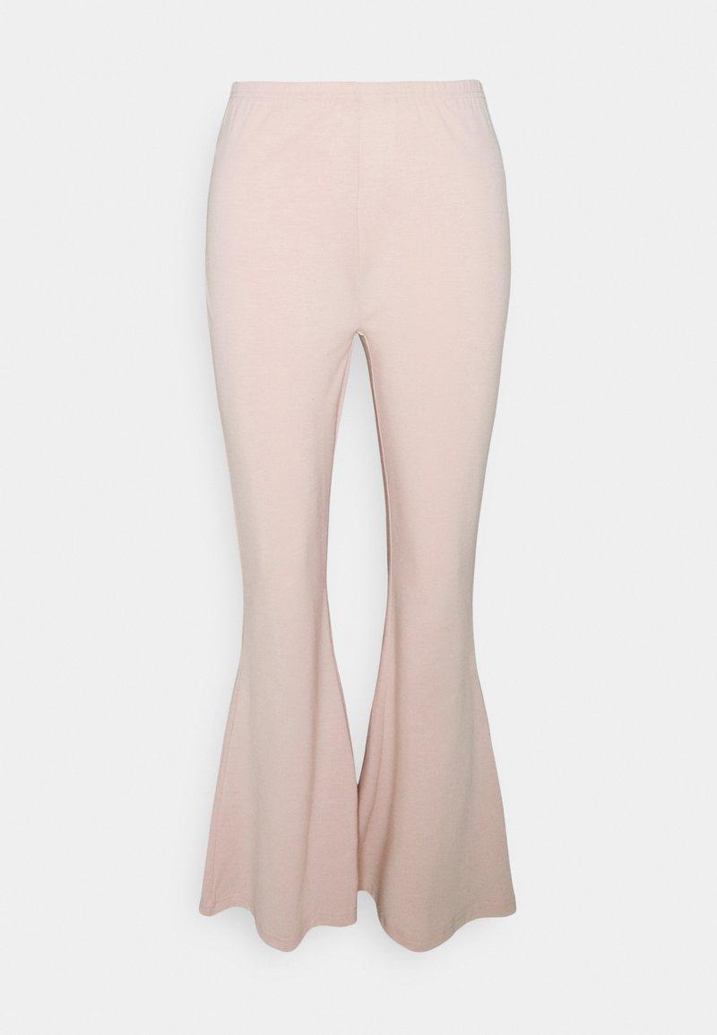 South Beach Petite - FLARE LEG PANT - Trousers - cameo rose