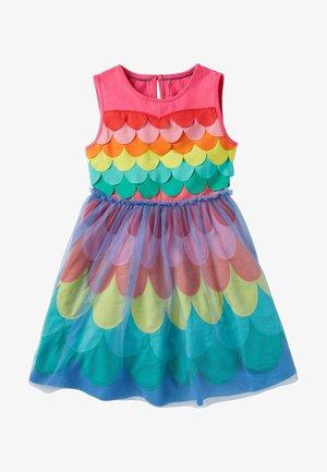 Jersey dress - bonbonrosa, regenbogen