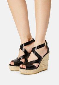 Kanna - SOFIA - Platform sandals - schwarz - 0