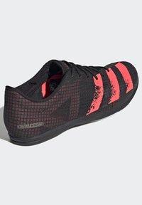adidas Performance - DISTANCESTAR SPIKES - Trail running shoes - black - 4