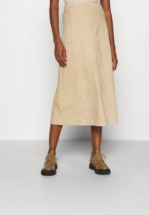 ORITZ - A-snit nederdel/ A-formede nederdele - sawdust