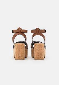 WEEKEND MaxMara - RITO - Platform sandals - kamel - 3