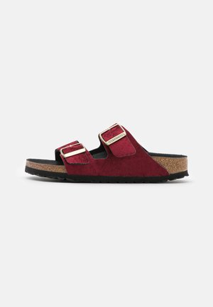 ARIZONA - Domácí obuv - burgundy