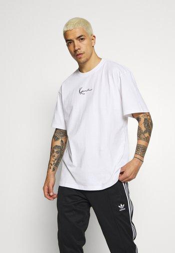 KK SIGNATURE TEE - T-shirt basique - white