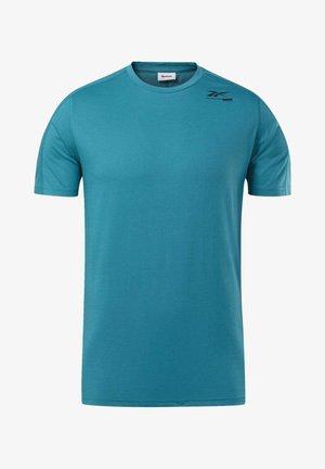 SPEEDWICK MOVE TEE - Print T-shirt - seaport teal
